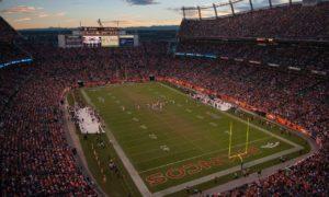 Broncos NFL sports betting stadium