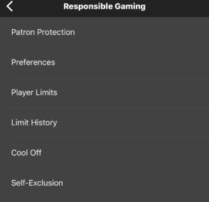 Regulated gaming settings
