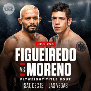UFC 256 odds